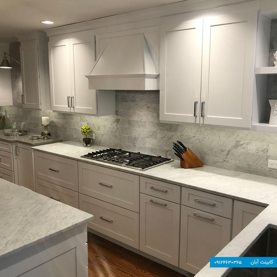کابینت مدرن آشپزخانه کوچک