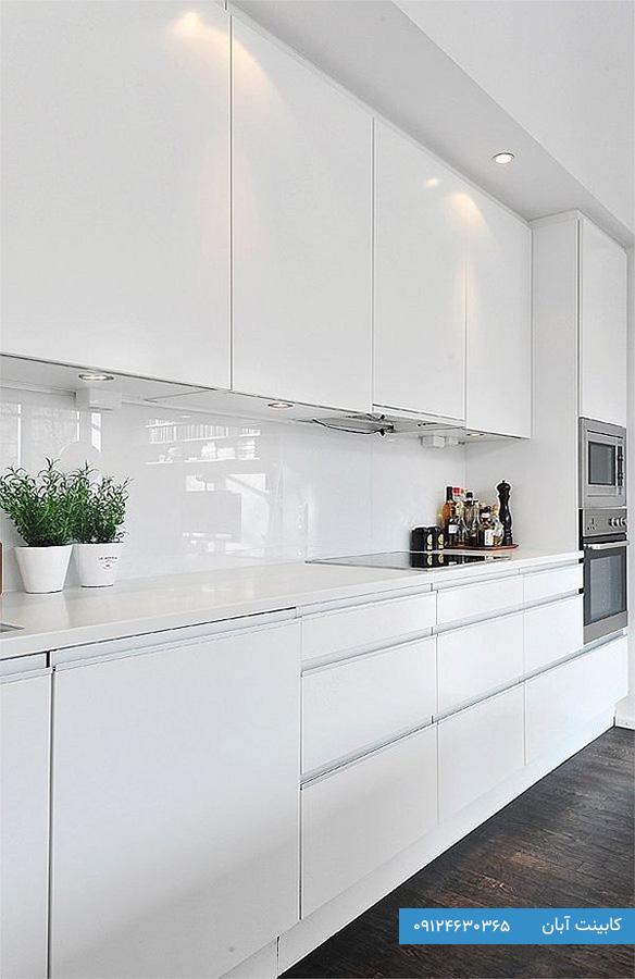 مدل کابینت های گلاس برای آشپزخانه کوچک