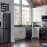 جای یخچال در کابینت آشپزخانه