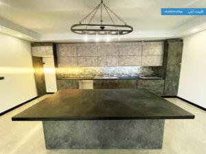 نمونه اجرای کابینت آشپزخانه مدرن